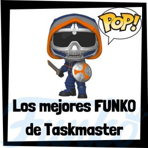 Los mejores FUNKO POP de Taskmaster de villanos de Marvel - Funko POP de villanos de los Vengadores - Funko POP de enemigos de Marvel
