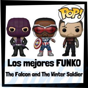Los mejores FUNKO POP de The Falcon and the winter Soldier - Los mejores FUNKO POP de personajes de la serie de Disney de Marvel