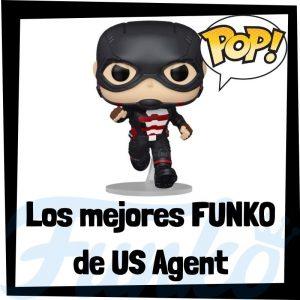 Los mejores FUNKO POP de US Agent de villanos de Marvel - Funko POP de villanos de los Vengadores - Funko POP de enemigos de Marvel