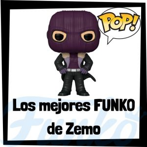 Los mejores FUNKO POP de Zemo de villanos de Marvel - Funko POP de villanos de los Vengadores - Funko POP de enemigos de Marvel