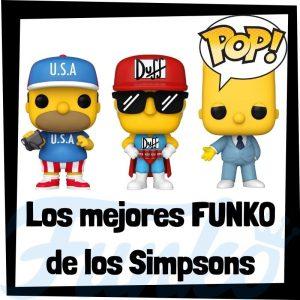 Los mejores FUNKO POP de los Simpsons - Funko POP de los Simpsons de dibujos animados
