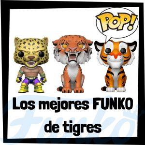 Los mejores FUNKO POP de tigres - Funko POP de animales - FUNKO POP de animales