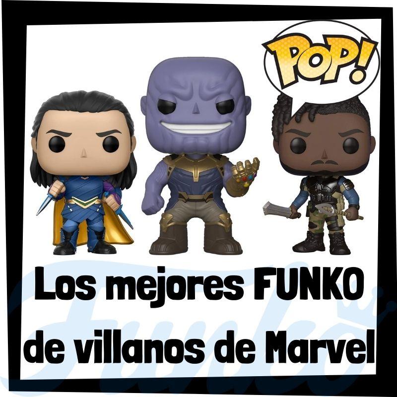 Los mejores FUNKO POP de villanos de Marvel