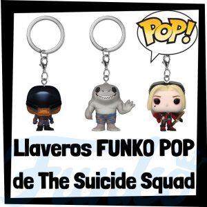 Los mejores llaveros FUNKO POP de The Suicide Squad - Los mejores FUNKO POP Keychain de personajes de Escuadron Suicida 2 -FUNKO POP de The Suicide Squad 2021