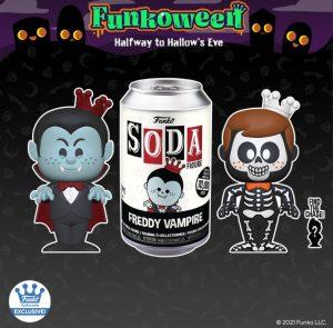 FUNKO POP Soda Freddy The Vampire de FUNKOWEEN 2021 - Los mejores FUNKO POP de FUNKOWEEN - FUNKO POP de FUNKOWEEN Día 2
