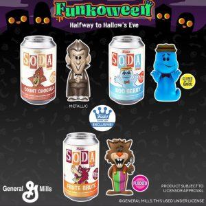 FUNKO POP Soda General Mills de FUNKOWEEN 2021 - Los mejores FUNKO POP de FUNKOWEEN - FUNKO POP de FUNKOWEEN Día 2