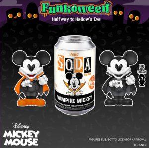 FUNKO POP Soda de Mickey Mouse de FUNKOWEEN - Los mejores FUNKO POP de FUNKOWEEN - FUNKO POP de Halloween de 2021