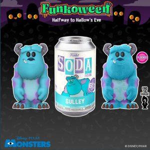 FUNKO POP Soda de Monstruos SA de FUNKOWEEN - Los mejores FUNKO POP de FUNKOWEEN - FUNKO POP de Halloween de 2021