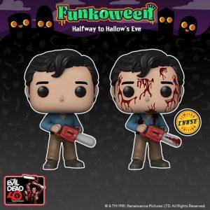FUNKO POP The Evil Dead de FUNKOWEEN 2021 - Los mejores FUNKO POP de FUNKOWEEN - FUNKO POP de FUNKOWEEN Día 4