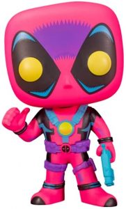 FUNKO POP de Deadpool de Marvel Black Light - Los mejores FUNKO POP de Marvel Black Light - FUNKO POP de Marvel