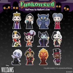 FUNKO POP de FUNKOWEEN de Mystery Minis de villanos de Disney - Los mejores FUNKO POP de FUNKOWEEN - FUNKO POP de Halloween de 2021