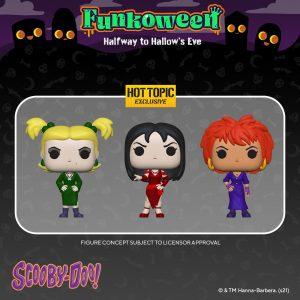 FUNKO POP de FUNKOWEEN de Scooby Doo - Los mejores FUNKO POP de FUNKOWEEN - FUNKO POP de Halloween de 2021