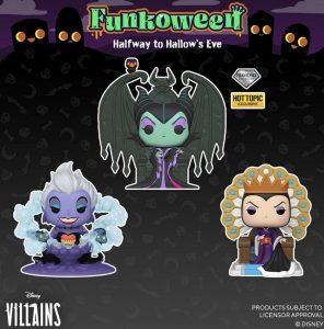 FUNKO POP de FUNKOWEEN de tronos de villanos de Disney - Los mejores FUNKO POP de FUNKOWEEN - FUNKO POP de Halloween de 2021