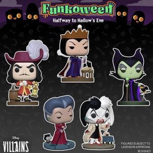 FUNKO POP de FUNKOWEEN de villanos de Disney - Los mejores FUNKO POP de FUNKOWEEN - FUNKO POP de Halloween de 2021