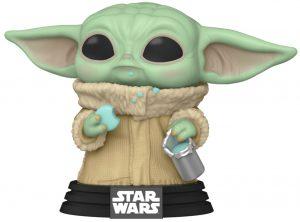 FUNKO POP de Grogu comiendo galletas - Los mejores FUNKO POP de Baby Yoda de The Mandalorian Season 2 - FUNKO POP de Star Wars