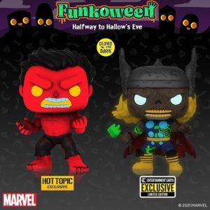 FUNKO POP de Marvel Zombies exclusivos de FUNKOWEEN 2021 - Los mejores FUNKO POP de FUNKOWEEN - FUNKO POP de FUNKOWEEN Día 4