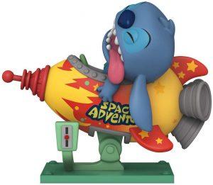 FUNKO POP de Stitch en cochete - Los mejores FUNKO POP de Lilo y Stitch - FUNKO POP de Rides