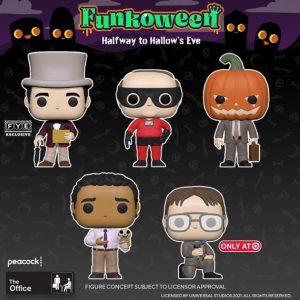 FUNKO POP de The Office de Halloween de FUNKOWEEN 2021 - Los mejores FUNKO POP de FUNKOWEEN - FUNKO POP de FUNKOWEEN Día 5