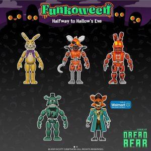 FUNKO muñecos de 5 Nights at Freddys de FUNKOWEEN 2021 - Los mejores FUNKO POP de FUNKOWEEN - FUNKO POP de FUNKOWEEN Día 4