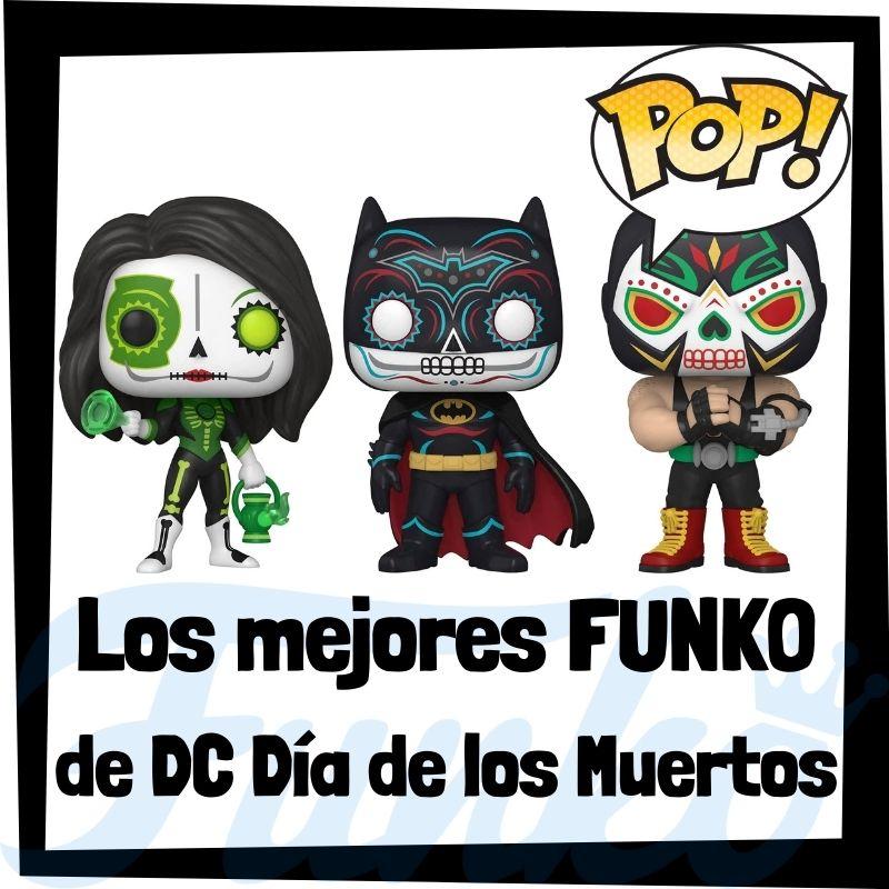 Los mejores FUNKO POP de DC Día de los Muertos