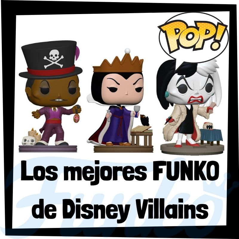 Los mejores FUNKO POP de Disney Villains