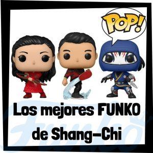 Los mejores FUNKO POP de Shang-Chi y la leyenda de los 10 anillos - Los mejores FUNKO POP de personajes de Shang-Chi FUNKO POP - Llaveros