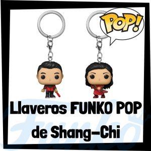 Los mejores llaveros FUNKO POP de Shang-Chi