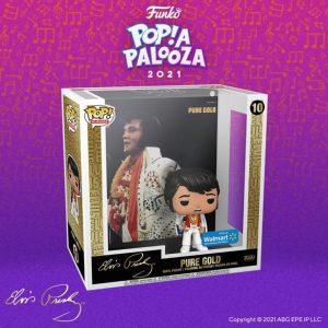 FUNKO POP Albums de Elvis Presley de POP A PALOOZA 2021 - Convenciones FUNKO POP de POP A PALOOZA 2021