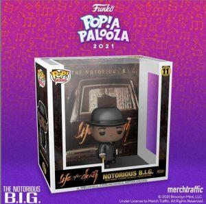 FUNKO POP Albums de The Notorious Big Life after death de POP A PALOOZA 2021 - Convenciones FUNKO POP de POP A PALOOZA 2021
