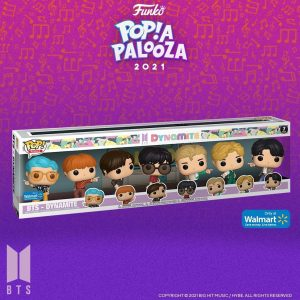 FUNKO POP de BTS Dynamite Walmart de POP A PALOOZA 2021 - Convenciones FUNKO POP de POP A PALOOZA 2021