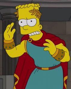FUNKO POP de Bartigula de los Simpsons I Caramba - Figuras FUNKO POP de los Simpsons Roman