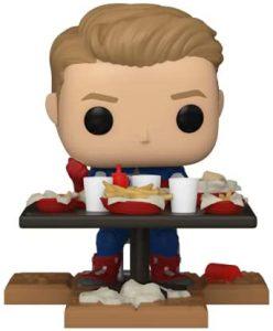 FUNKO POP de Capitán América de Shawarma Collection