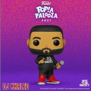 FUNKO POP de DJ Khaled de POP A PALOOZA 2021 - Convenciones FUNKO POP de POP A PALOOZA 2021