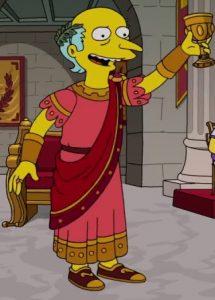 FUNKO POP de Emperor Montimus de los Simpsons I Carumbus - Figuras FUNKO POP de los Simpsons Roman