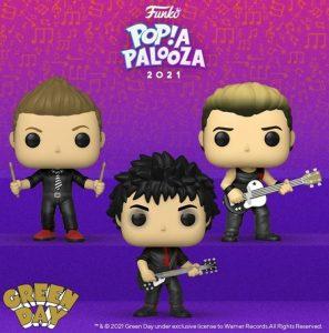 FUNKO POP de Green Day de POP A PALOOZA 2021 - Convenciones FUNKO POP de POP A PALOOZA 2021