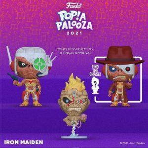 FUNKO POP de Iron Maiden de POP A PALOOZA 2021 - Convenciones FUNKO POP de POP A PALOOZA 2021