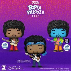 FUNKO POP de Jimmi Hendrix de POP A PALOOZA 2021 - Convenciones FUNKO POP de POP A PALOOZA 2021