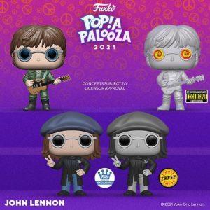 FUNKO POP de John Lennon de POP A PALOOZA 2021 - Convenciones FUNKO POP de POP A PALOOZA 2021