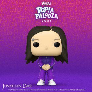 FUNKO POP de Jonathan Davis de POP A PALOOZA 2021 - Convenciones FUNKO POP de POP A PALOOZA 2021