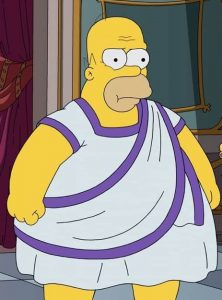 FUNKO POP de Obeseus Homer de los Simpsons I Caramba - Figuras FUNKO POP de los Simpsons Roman