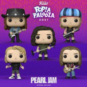 FUNKO POP de Pearl Jam de POP A PALOOZA 2021 - Convenciones FUNKO POP de POP A PALOOZA 2021
