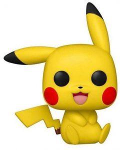 FUNKO POP de Pikachu sentado de Pokemon 25 Aniversario - Los mejores FUNKO POP de Pokemon