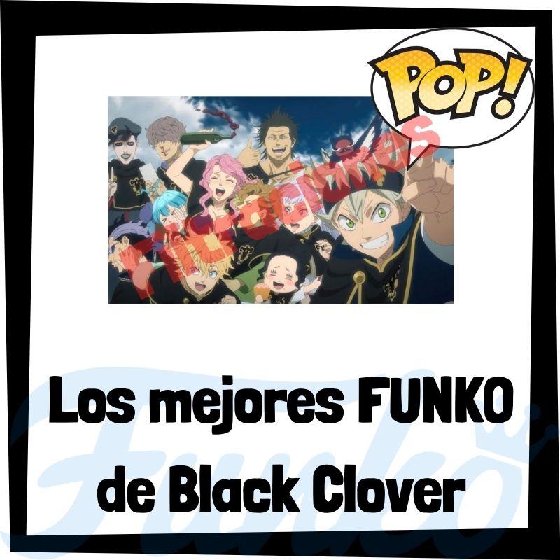 Filtraciones de FUNKO POP de Black Clover