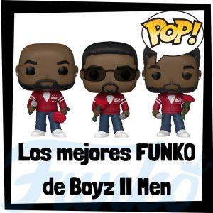 Los mejores FUNKO POP de Boyz II Men de grupos musicales - Funko POP de Boyz II Men Rocks - POP a Palooza