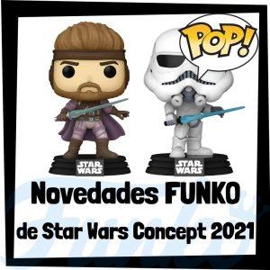 Lee más sobre el artículo Novedades FUNKO POP de Star Wars Concept 2021