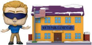 FUNKO POP Town de Elementary con PC Principal de South Park - Los mejores FUNKO POP Town