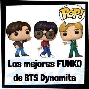 Los mejores FUNKO POP de BTS Dynamite de grupos musicales - Funko POP de BTS Dynamite Rocks - POP a Palooza 2021