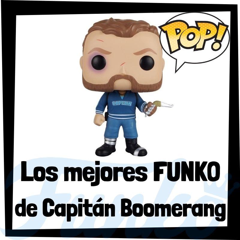 Los mejores FUNKO POP de Capitán Boomerang
