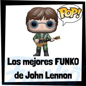 Los mejores FUNKO POP de John Lennon de los Beatles - Los mejores FUNKO POP de John Lennon - Los mejores FUNKO POP de grupos de música de Rock and Roll