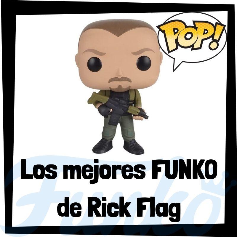 Los mejores FUNKO POP de Rick Flag